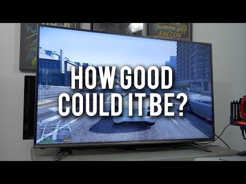 I Bought A $500 4K TV. Verdict? - ft. 2-WAY GTX 1080 SLI