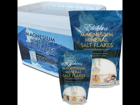Magnesium Flakes Food Grade