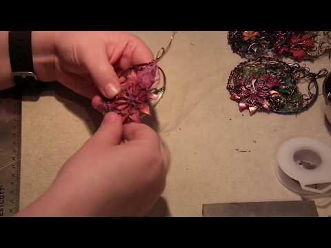 Watch me Wire Wrap a Steampunk Pendant!
