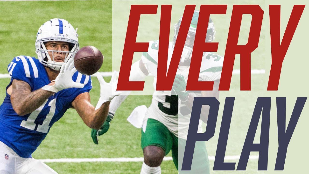 Michael Pittman Jr. | Weeks 1-10 | Every Play | 2020