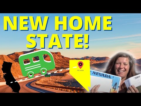 How I Became a Nevada Resident in a Day: Full-Time RVer Residency