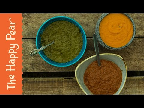 INDIAN CURRY SAUCES 3 WAYS | VEGAN | THE HAPPY PEAR