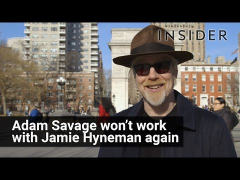 Why Myth Busters' Adam Savage Won't Work With Jamie Hyneman Anymore