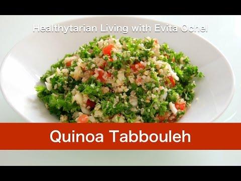 Quinoa Tabbouleh Dish - Nutrition, Recipe & Tips