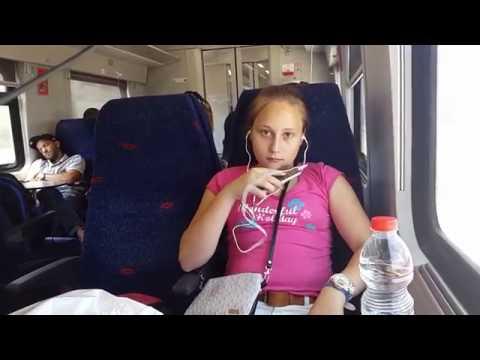 From tel Aviv to Haifa by train/Из Тель-Авива в Хайфу на поезде