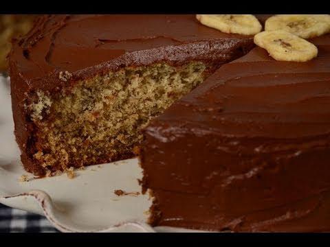 Banana Cake Recipe Demonstration - Joyofbaking.com