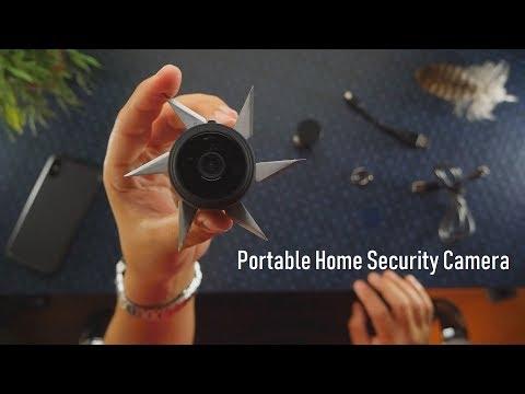 AREBI A10 Plus: Portable Home Security Cameras - Spy Cam