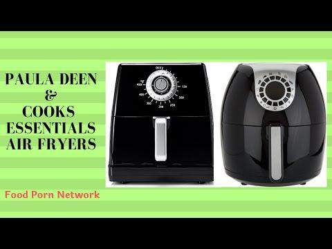 Paula Deen 8.5 qt Air Fryer & Cooks Essentials 5.3 qt