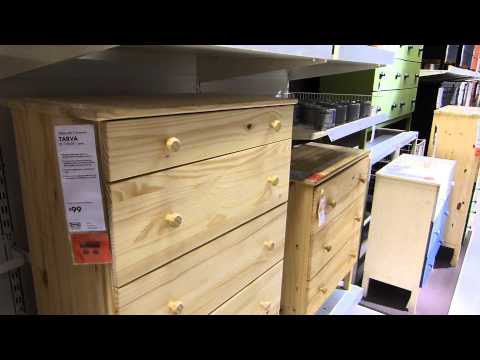 Ikea Tarva Unfinished (relatively) solid Pine Furniture