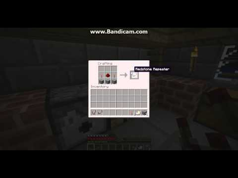 Minecraft- How to make a redstone repeater/ comparator