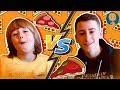 Cheese PIZZA vs Salami PIZZA 🍕🍕(Gerti Toys)