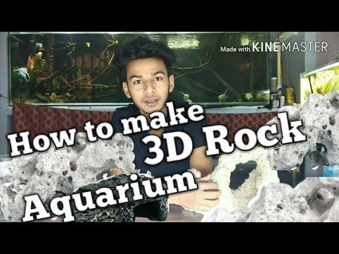3D Rocks(decoration) for Aquarium
