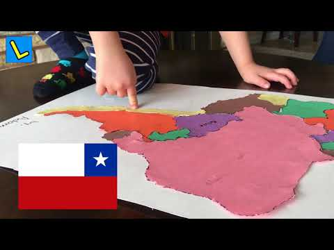 Learn all of South America Countries with Adam | Let's Play Kids