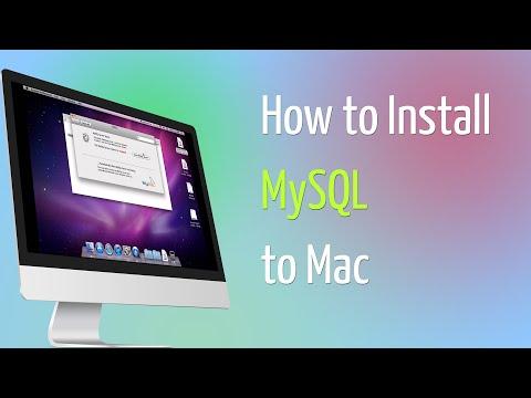 How to Install MySQL to Mac