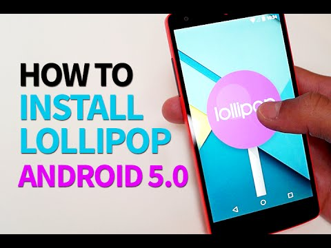 How to Install Android Lollipop 5.0 TODAY on NEXUS 5