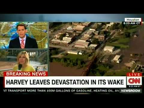 HARVEY LEAVES DEVASTATION ON ITS WAKE ON CNN Breaking News