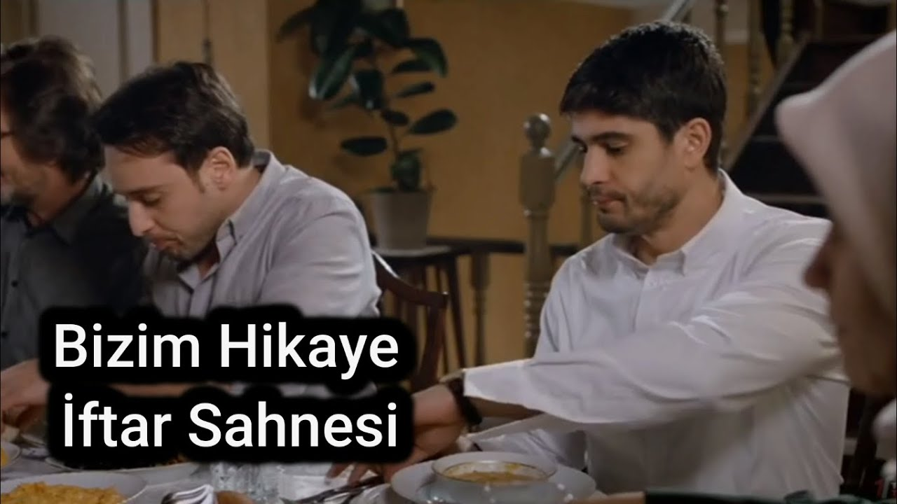 Haluk Piyes Bizim Hikaye Filmi Son İftar Sahnesi ( Sera Tokdemir & Çiğdem Batur & İbrahim Kendirci)