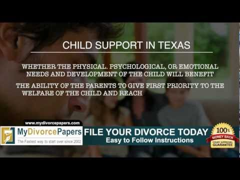 How to file Texas Divorce Forms Online