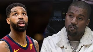 Kanye West Threatens To BEAT Tristan Thompson's A$$!