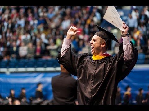 Wharton Undergraduate Graduation Ceremony 2014