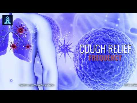 Cough Relief Binaural Beats Sound Therapy ➤Lungs & Throat Treatment ➤ Cough Relief Frequency