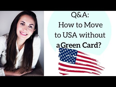 Q&A: How to Move to the USA without a Green Card🇺🇸✔️