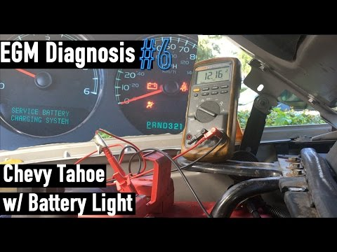 Diagnosing a Bad Alternator on a 2007-2014 Chevrolet Tahoe - Car / Truck - EGM Diagnosis #6