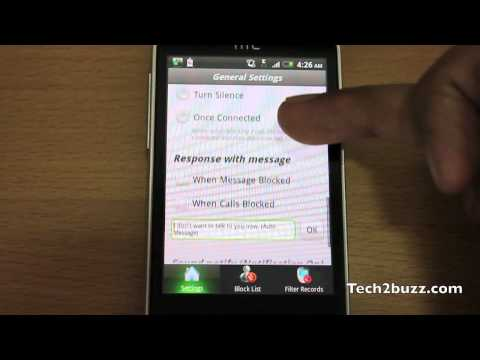 Free call filtering on android phones