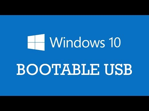 Windows 10 bootable USB Flash Drive using Command prompt or CMD | Diskpart