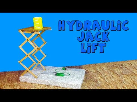 How To Make a Hydraulic Lift Table