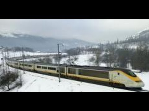 Taking the train to the Alps