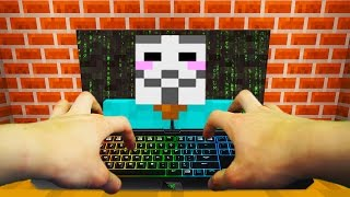 REALISTIC MINECRAFT - STEVE BECOMES A HACKER! 😎 💻