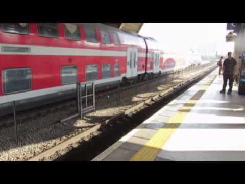 Israel Railways - a train journey from Haifa to Tel Aviv