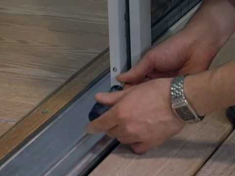 Installing a screen on a French Door
