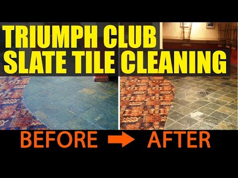Slate Tile Cleaning And Sealing