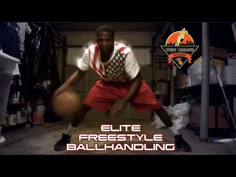 Indoor Freestyle Ballhandling Workout | Get Faster Handles ! ELITE WORKOUT SERIES