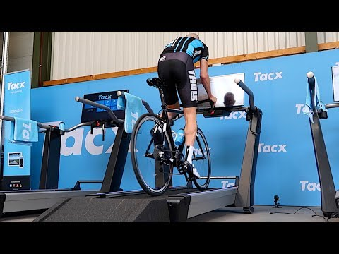 Tacx Magnum: First Ride (Fully Automatic Treadmill Smart Trainer)