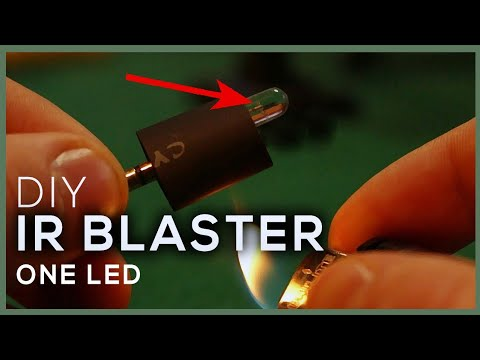 DIY IR BLASTER With Only 1 LED | Universal Remote