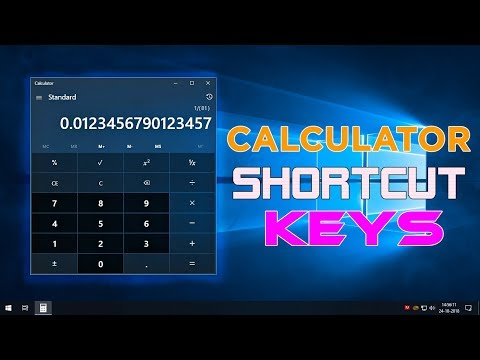 10 CALCULATOR KEYBOARD SHORTCUT KEYS YOU MUST LEARN | WINDOWS 10 TIPS