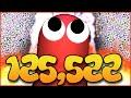125,000K+ WORLD RECORD MASS GAMEPLAY - SLITHER.IO WORLD ...