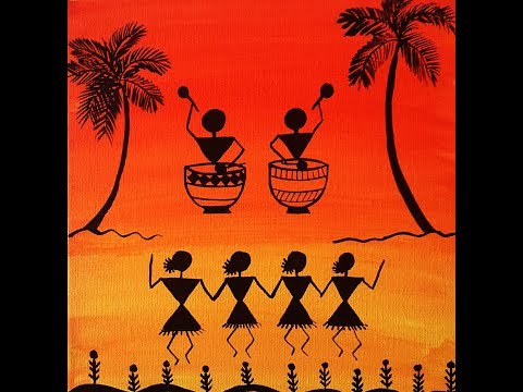 WARLI BASIC PAINTING FOR BEGINNERS | GETTING STARTED