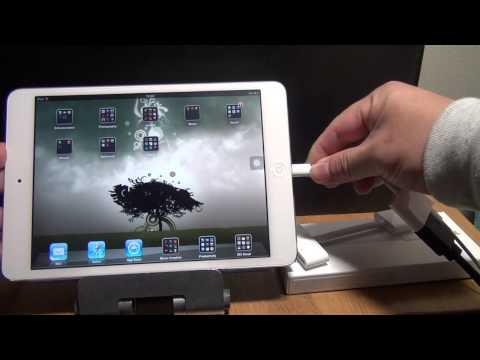 Apple iPad Mini Lightning Digital AV Adapter Unboxing & Review by tkviperTech