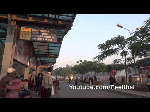 Longbien Bus to Ha Noi Airport