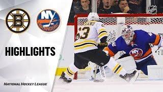 NHL Highlights Bruins Islanders 11120