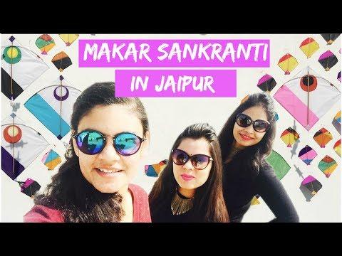 Makar Sankranti (Uttarayan) Vlog | Jaipur Kite Festival