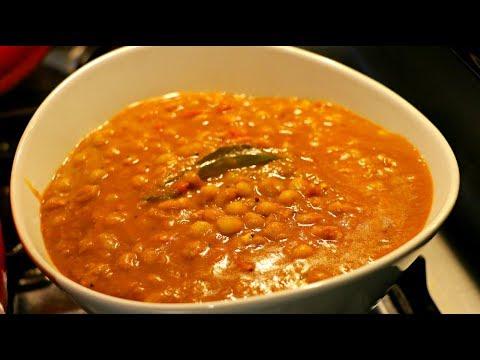 Kerala Restaurant Style Green Peas Curry|| Thenga varutharacha gree peas curry