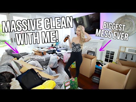 My House is a Disaster! Clean with Me!