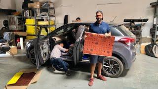 My I20 Got Full Damping   Musafir's I20 Damping Video   Musafir's Car   Hyundai I20 Modified