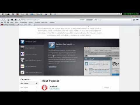 Safari extensions to Get
