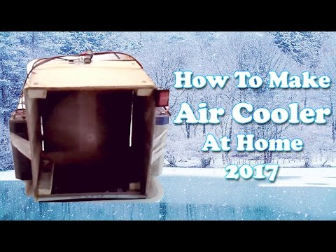 How To Make Air Cooler At Home 2017 | How To Make Air Conditioner At Home